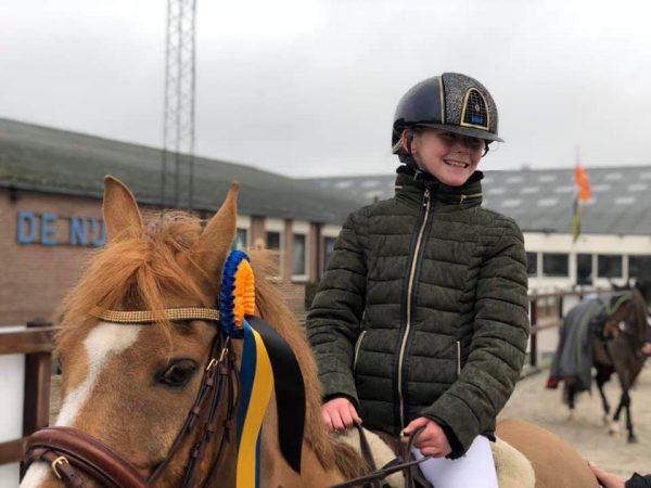 Mariesa Veenstra en Roxie Reservekampioen van Gelderland!