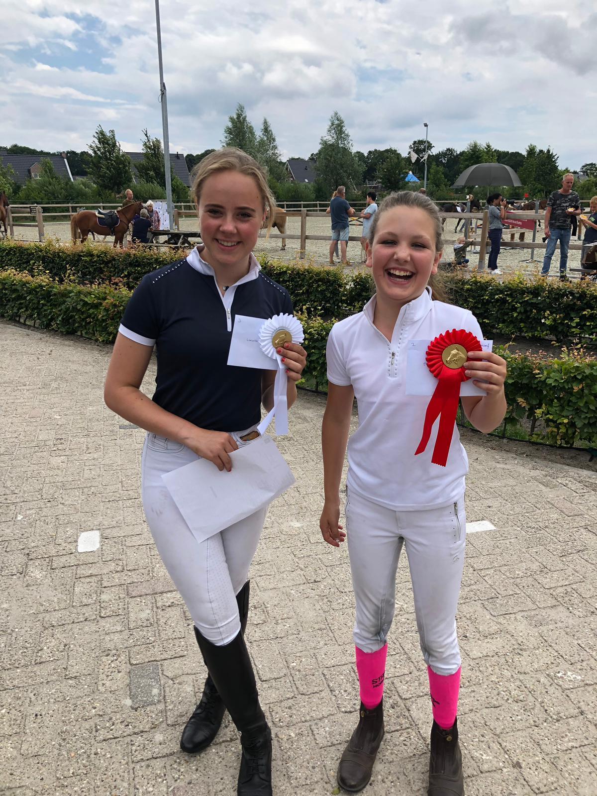 Drie ponyleden naar Gelderse Kampioenschappen!