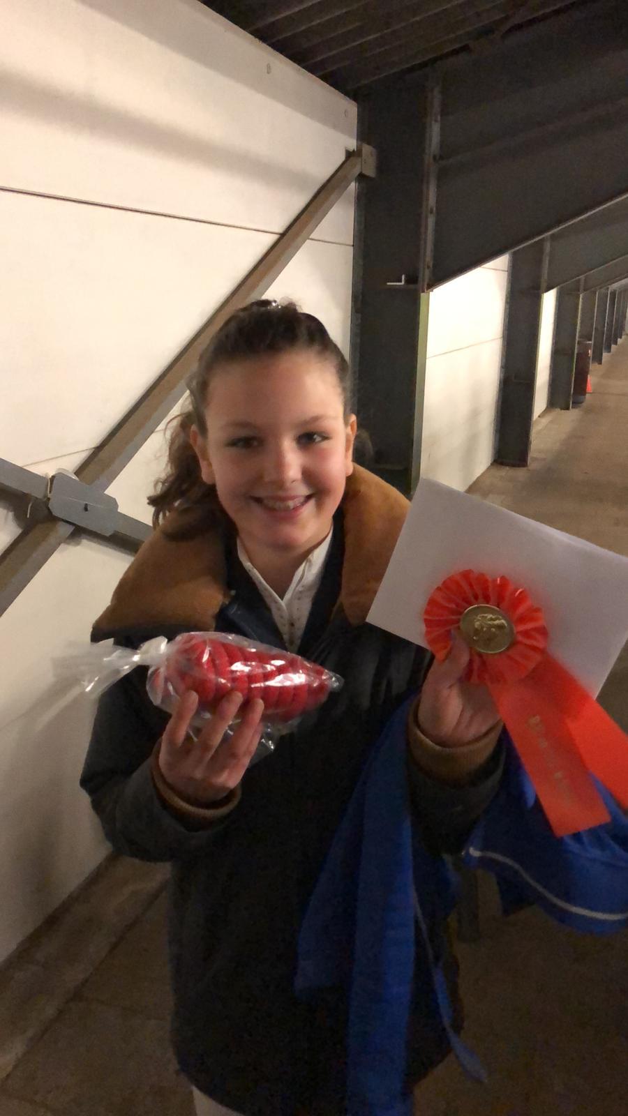 Merinthe Knaap wint in Apeldoorn!